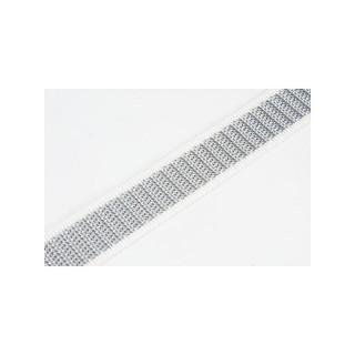Taśma do zwijaczy rolet biało szara 22mm